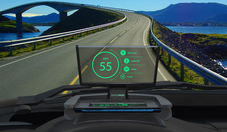 SenseHUD The Ultimate Portable Head-up Display