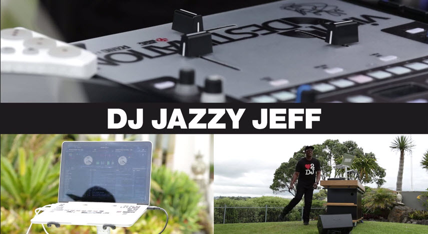 DJ Jazzy Jeff made his way to Serato's home town Auckland, New Zealand recently where he showed us a special Run DMC - Peter Piper Routine that he put together with Serato DJ, the Rane Sixty-Two mixer, the new Pioneer PLX-1000 turntables, and DDJ-SP1 controller. www.serato.com/artists/dj-jazzyjeff.  Watch as he goes to work on the track, cutting with razor sharp precision - trademark DJ Jazzy Jeff, stuff filmed in front of the iconic Rangitoto Island. Keep your eyes peeled for an interview with DJ Jazzy Jeff while he was here with us too.