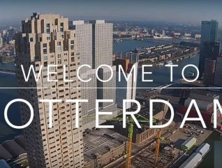 Rotterdam by Drone