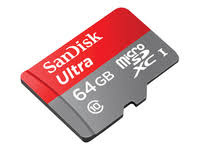 SANDISK Micro-SDXC Ultra Android 64 GB 80 MB/s Klasse 10
