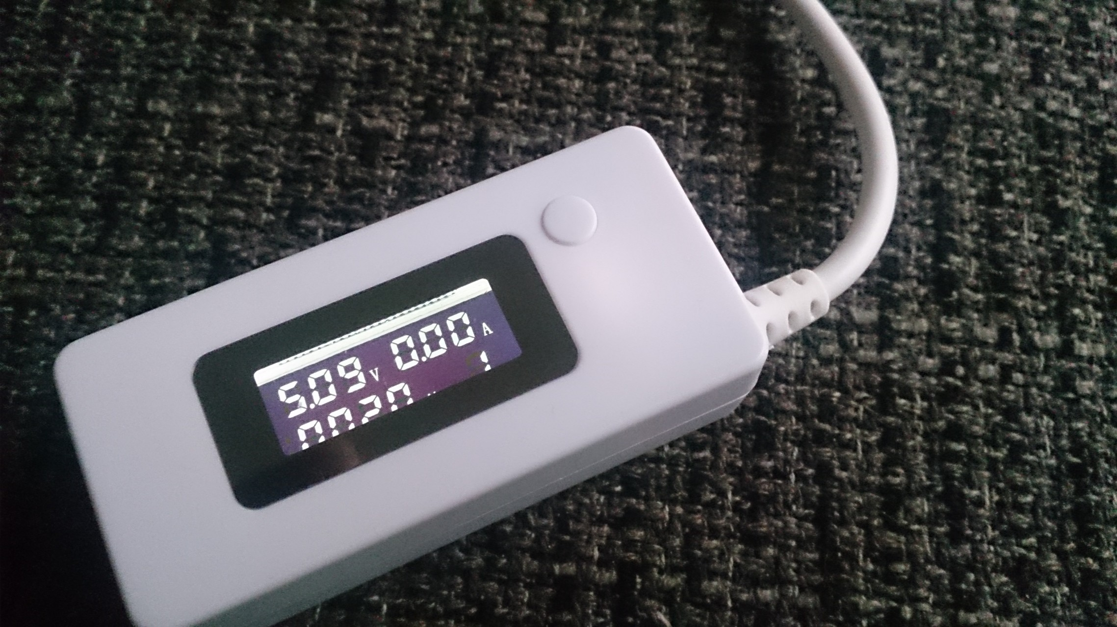 LCD USB Mini Voltage en Ampère meter