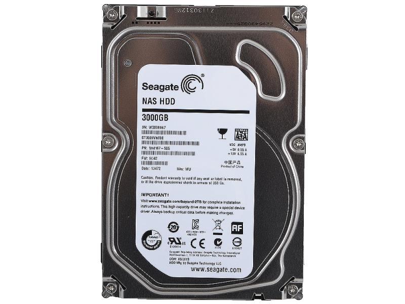 Seagate NAS HDD 3TB 3.5″