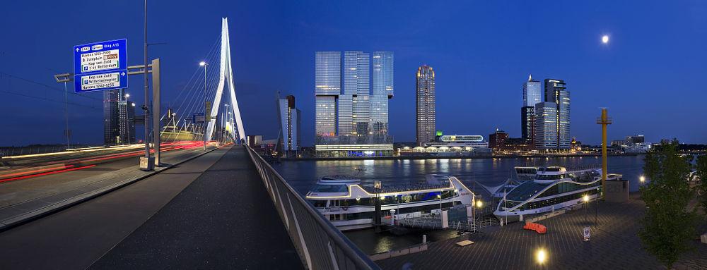 De Rotterdam – 4 jaar bouwen in 2 minuten